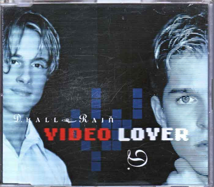 D. Hall & Rain ‎– Video Lover - Musik auf CD, Maxi-Single