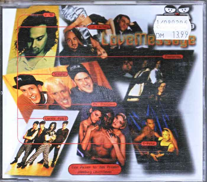 Love Message Masterboy - Musik auf CD, Maxi-Single