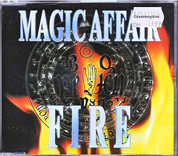 Magic Affair – Fire - Tauschaktion Maxi-Single