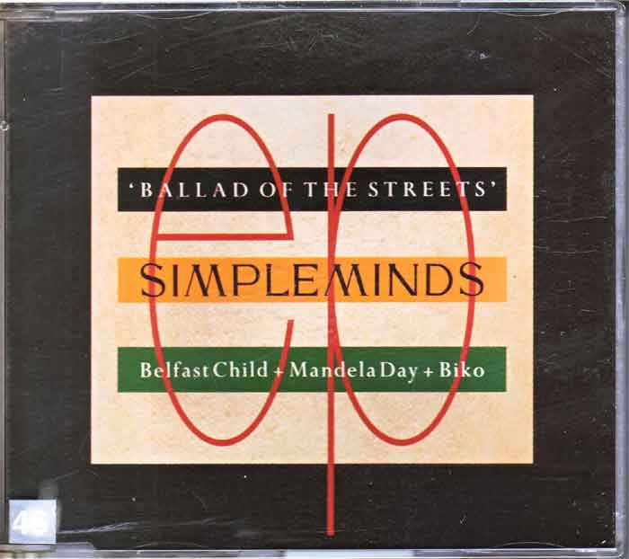 Simple Minds ‎– Ballad Of The Streets - Musik auf CD, Maxi-Single