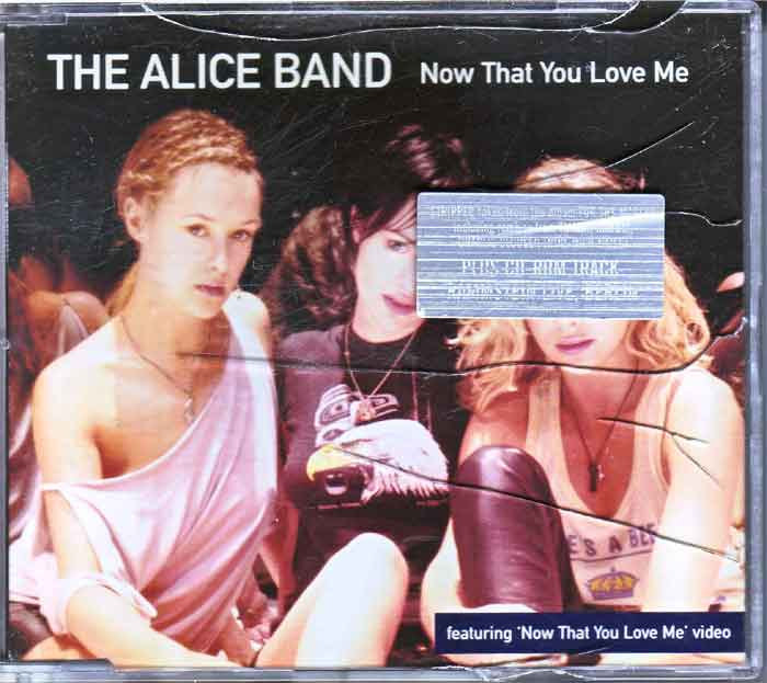 The Alice Band ‎– Now That You Love Me - Musik auf CD, Maxi-Single