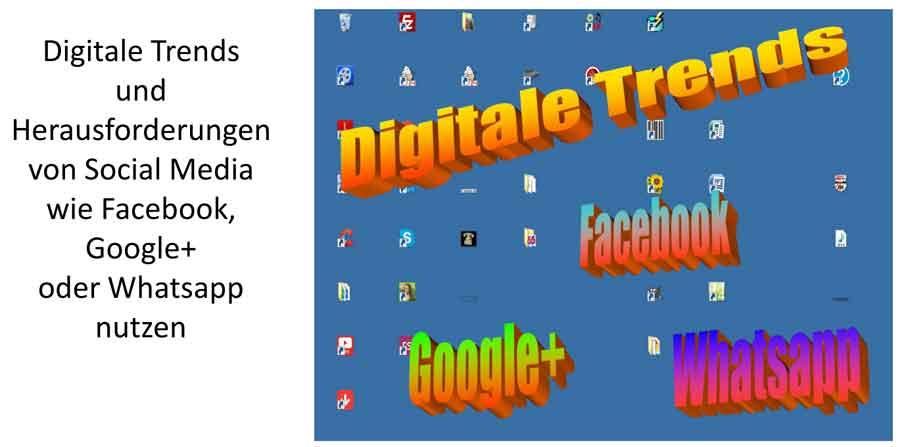Banner Digitale Trends Online-Bewerbung als Fachberater
