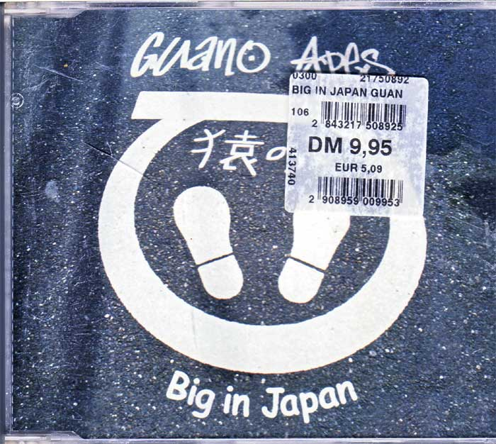 Discosound Guano Apes - Big in Japan CD