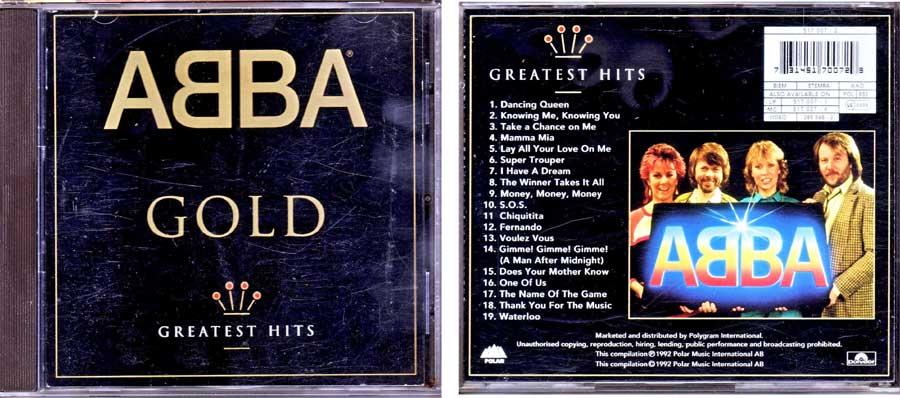 ABBA – Gold auf CD
