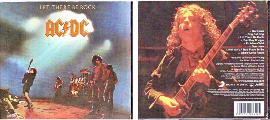 AC/DC Hardrock auf CD
