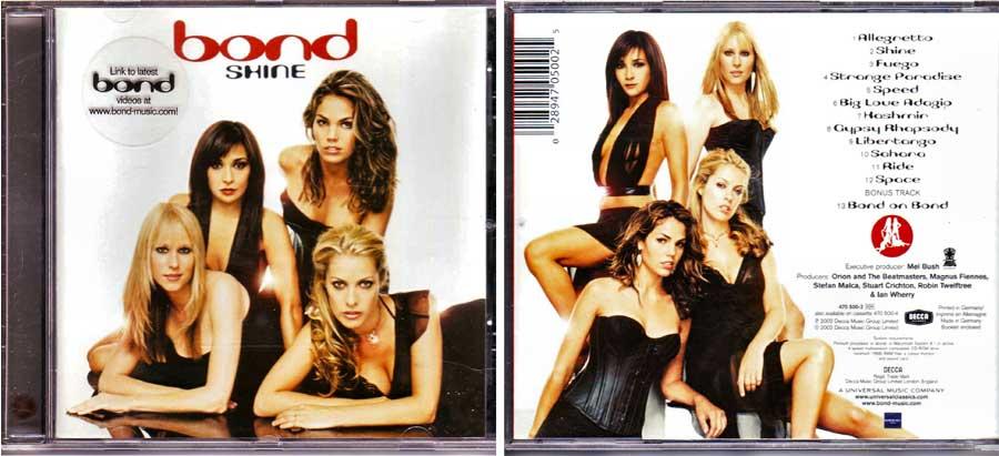Bond - Shine - CD von 2002