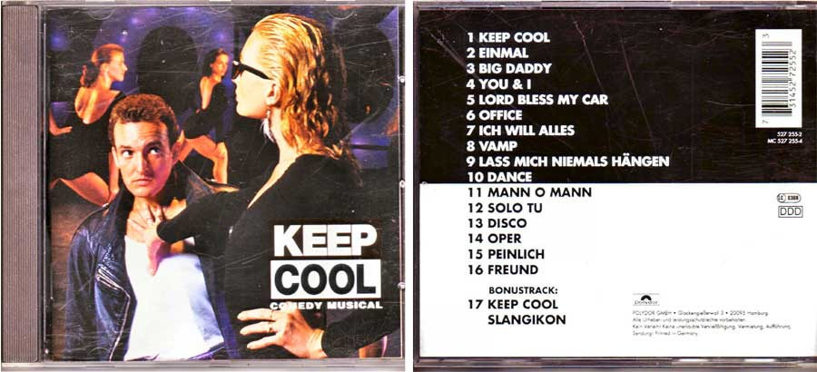Keep Cool - Comedy Musical - CD von 1995