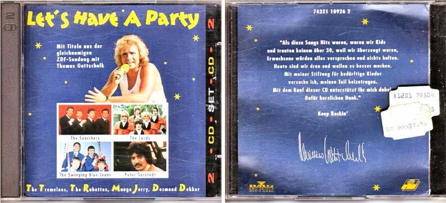 Let's Have A Party - Doppel-CD von 1992