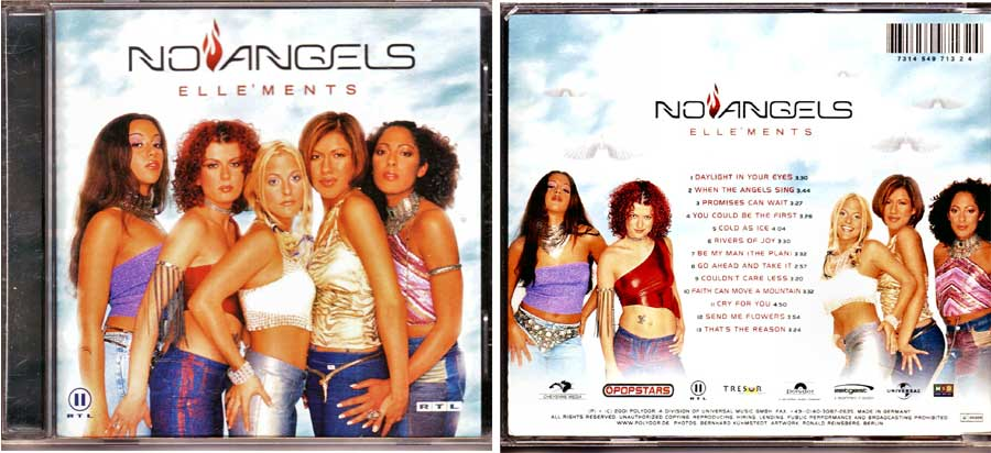 No Angels - Elle'ments - CD von 2001