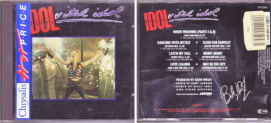 Billy Idol - Vital Idol - CD von 1985
