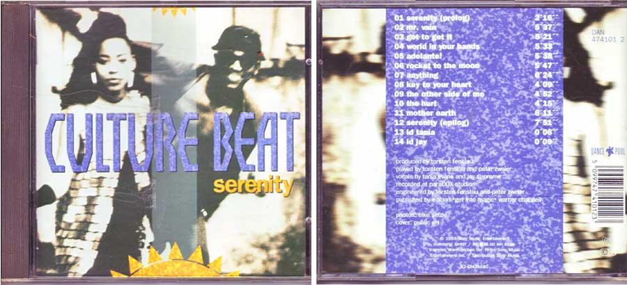Culture Beat - Serenity - CD von 1993
