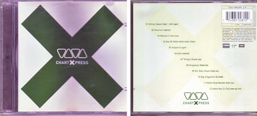 VIVA Chart X Press - CD von 2000