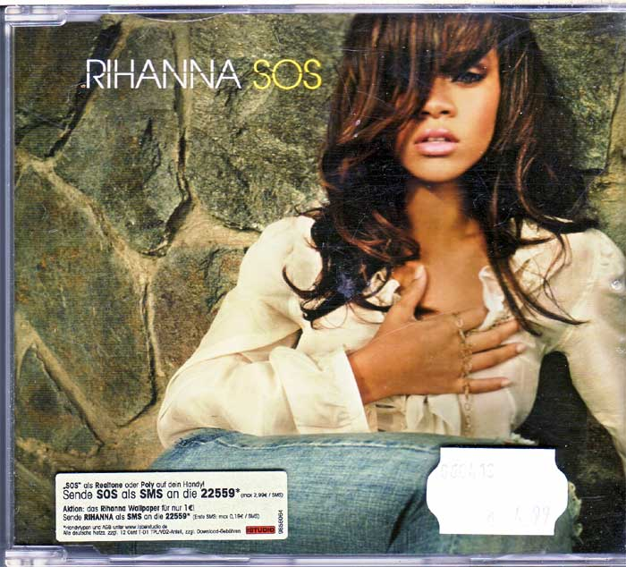 Rihanna - SOS auf Musik-Maxi-CD