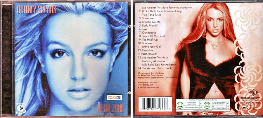 Britney Spears - In The Zone - CD von 2003