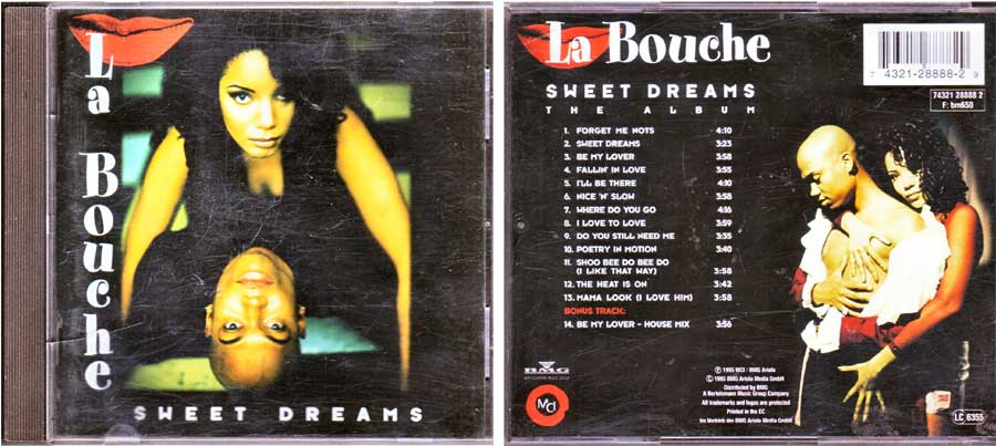 La Bouche - Sweet Dreams - CD von 1995