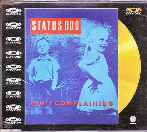 Status Quo - Ain't Complaining - CD von 1988