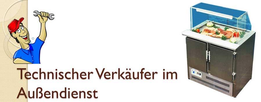 Technischen Verkäufer Banner