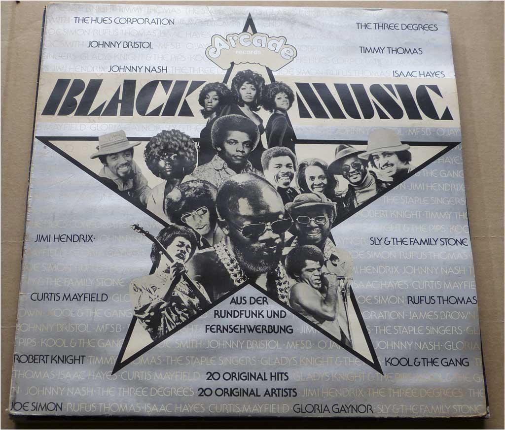 Original Artists & Hits Black Musik