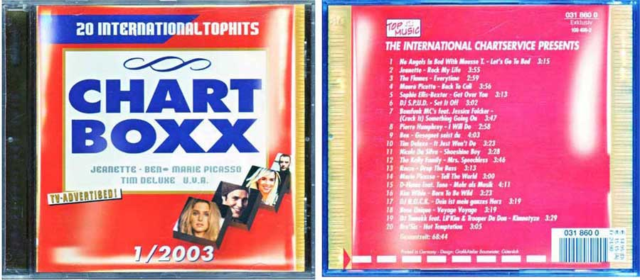 CD Long Player, Compilation / Sampler - Chart Boxx 1. 2003