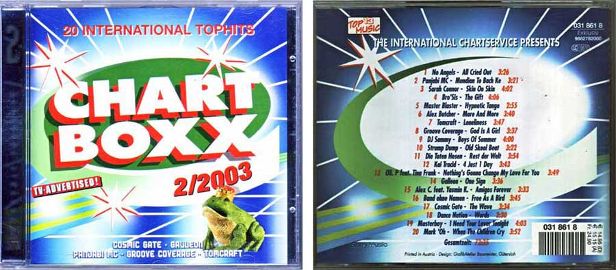 CD Long Player, Compilation / Sampler - Chart Boxx 2. 2003