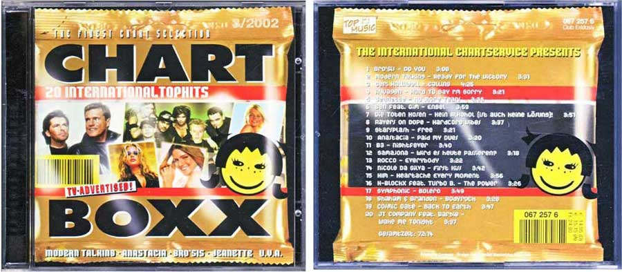 CD Long Player, Compilation / Sampler - Chart Boxx 3. 2002