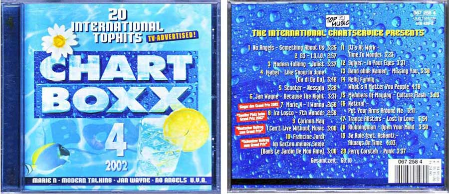 CD Long Player, Compilation / Sampler - Chart Boxx 4. 2002
