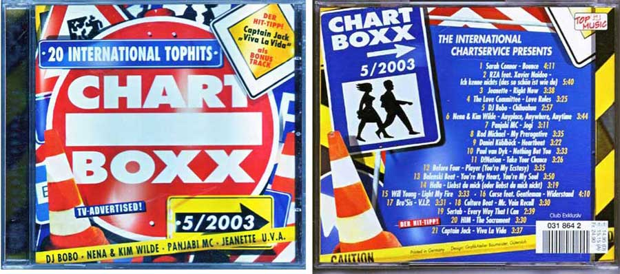 CD Long Player, Compilation / Sampler - Chart Boxx 5. 2003