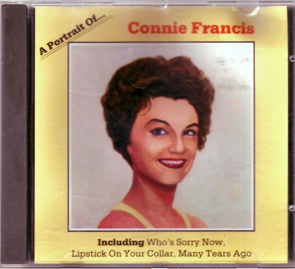 CD Connie Francis ‎– A Portrait Of von 1989