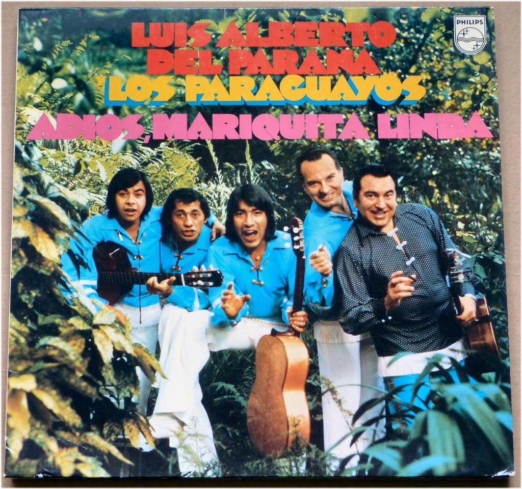 Schallplatte Adios Mariquita Linda