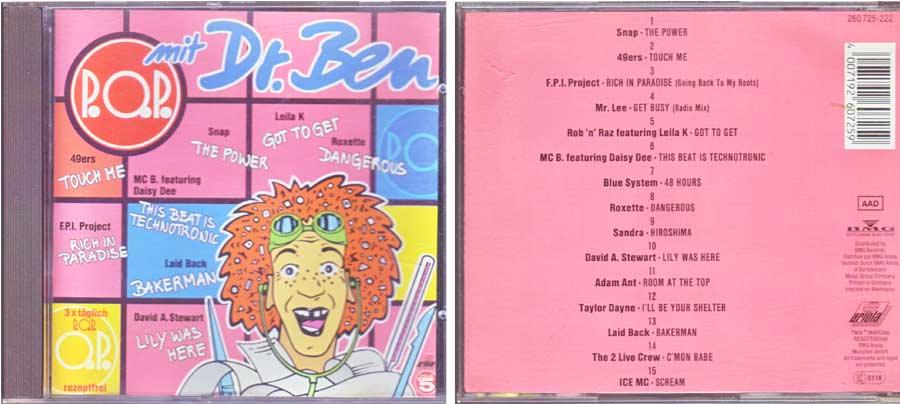 P.O.P. mit Dr. Ben - CD von 1990
