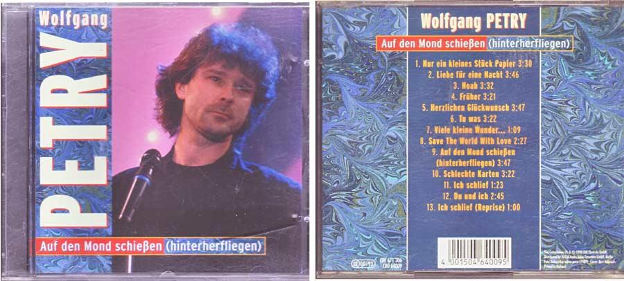 Wolfgang Petry - Auf Den Mond Schießen (hinterherfliegen) CD von 1998