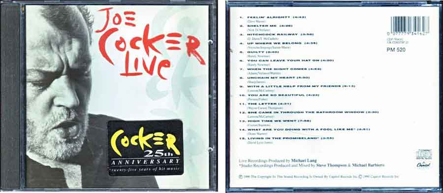 Best of - Joe Cocker Live
