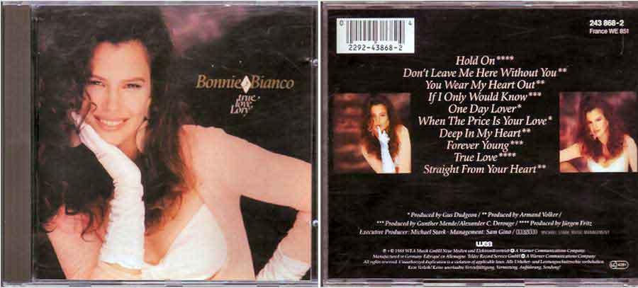 Bonnie Bianco - True Love, Lory - CD von 1988