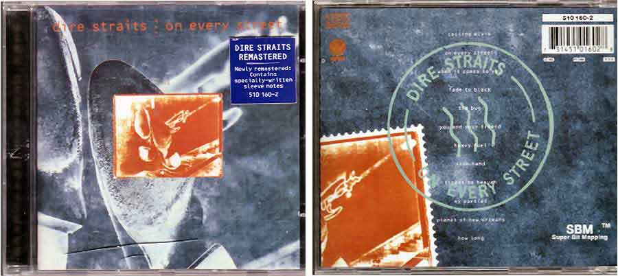 Dire Straits - On Every Street - CD von 1996
