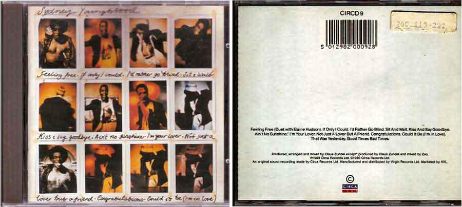 Sydney Youngblood - Comeback CD von 1989