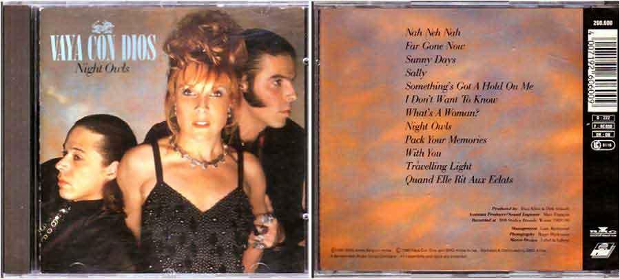 Vaya Con Dios - Night Owls - Comeback CD 1990