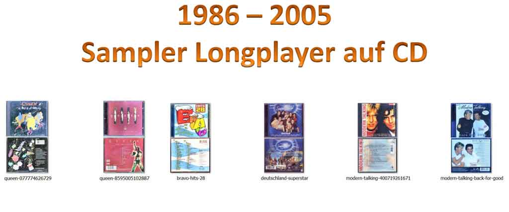 Compilation Sampler Longplayer - Banner Website