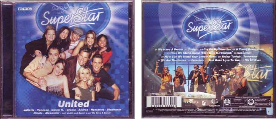 Sampler - deutschland superstar Bild von CD