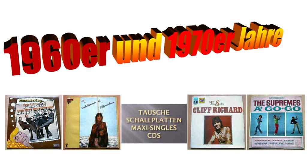 Compilations Banner für Sampler Longplayer und Schallplatten/