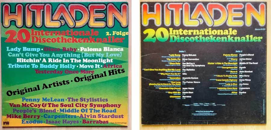 Discothekenknaller auf Schallplatte, Vinyl
