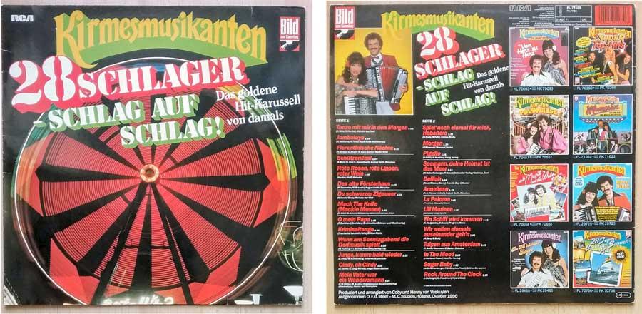Die Kirmesmusikanten - Top-Hits und Schlager von 1986