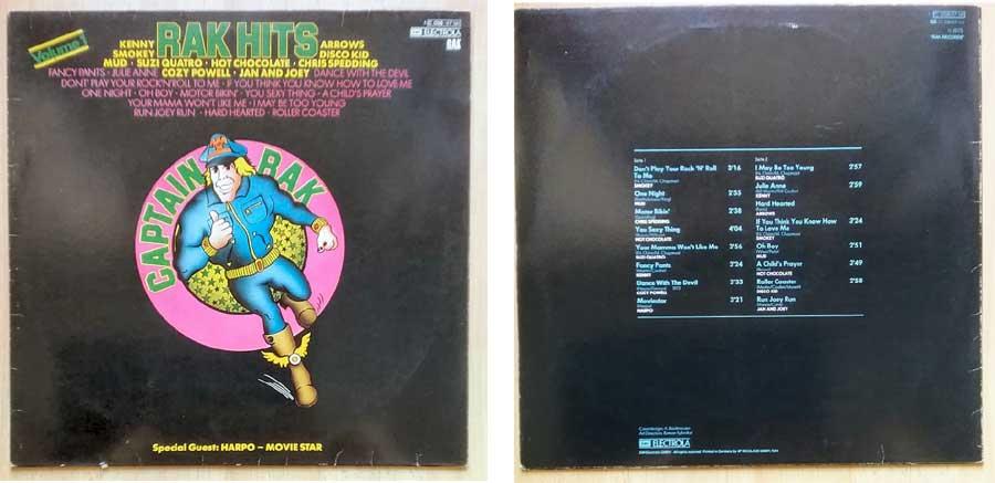 Rak Hits auf LP - Germany von 1975