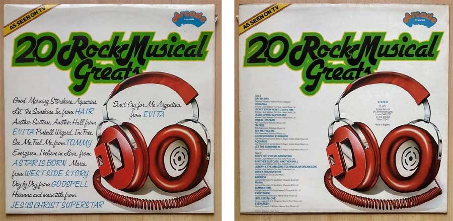 Schallplatte 20 Rock Musical Greats