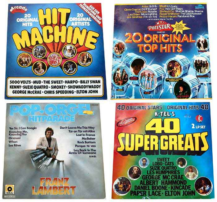 Vinylschallplatten Banner