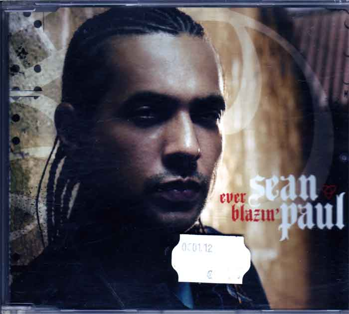 Sean Paul ‎– Ever Blazin - Musik auf CD, Maxi-Single