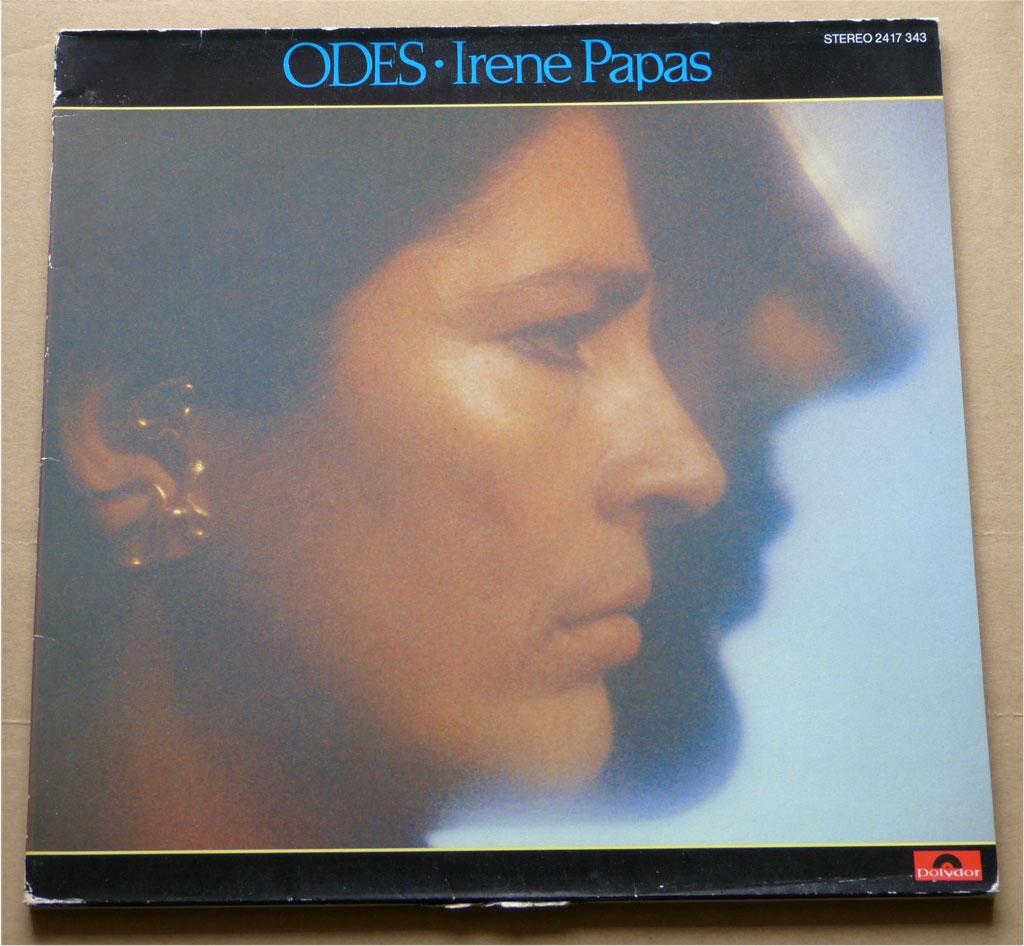 Unvergessen die LP Irene Papas