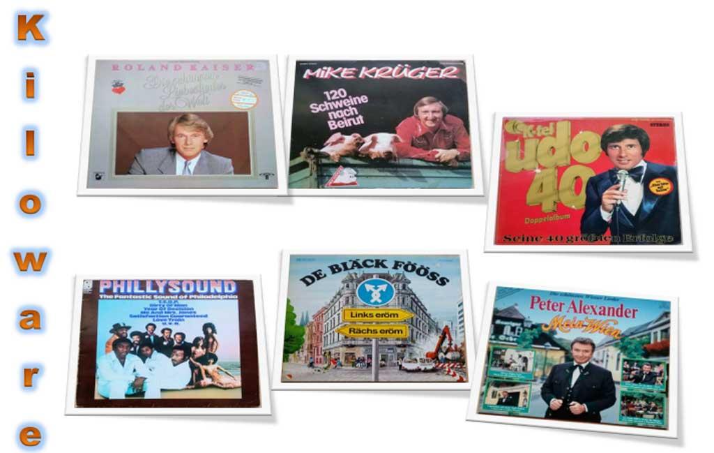 Kiloware Schallplatten Vinyl