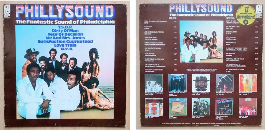 Phillysound the Fantastic Langspielplatte
