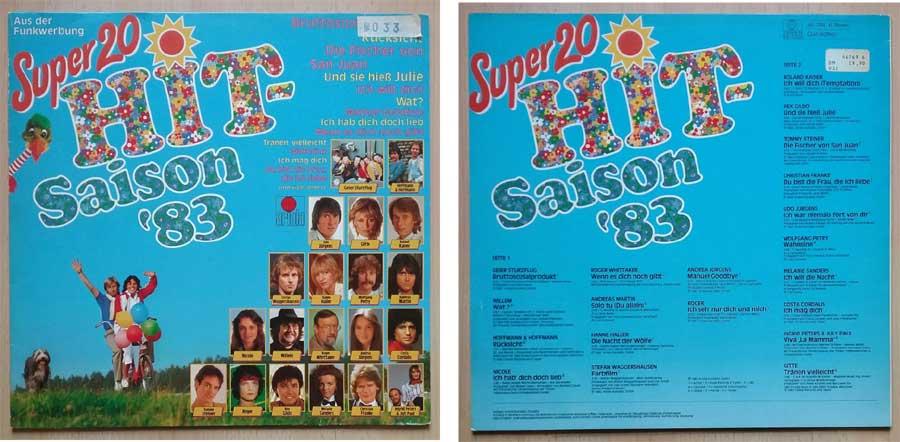 20 Super Hits aus der Saison 1983, Evergreens