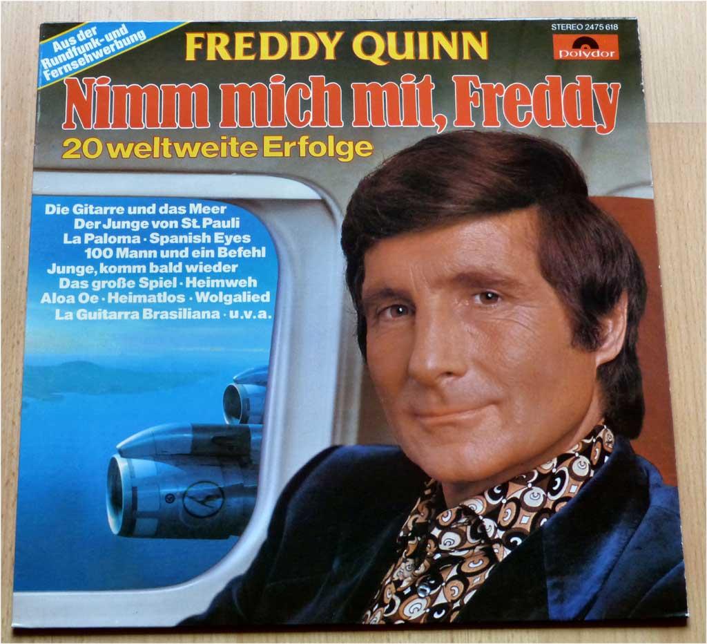 Freddy Quinn, 20 weltweite Erfolge auf LP